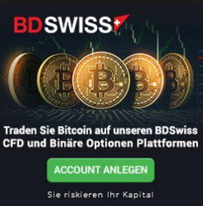 BDSwiss Bitcoin Trading infos