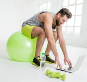 Online-Programme für die Verbesserung seiner Fitness