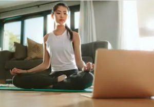 Workout von zu Hause gibt es heutzutage über das Internet